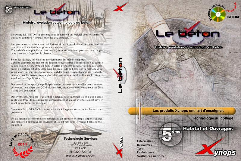 2011 - Beton Jaquette (Indesign)
