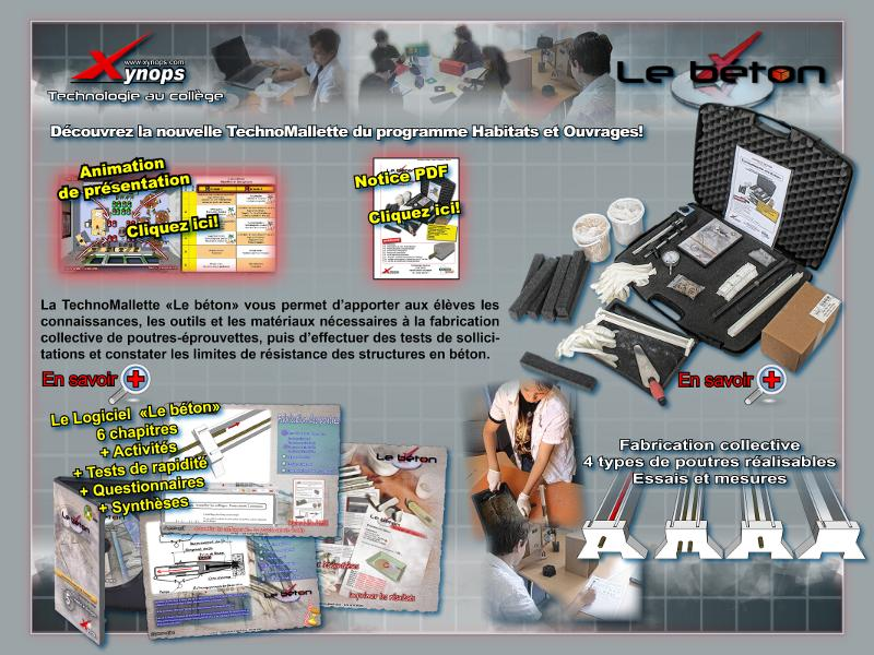 2011 - Mailing Beton (Indesign)